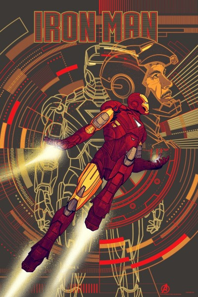 mondo-iron-man-avengers-variant-poster