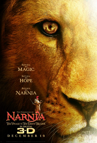 6 Movie Clips from THE CHRONICLES OF NARNIA: THE VOYAGE OF THE DAWN TREADER