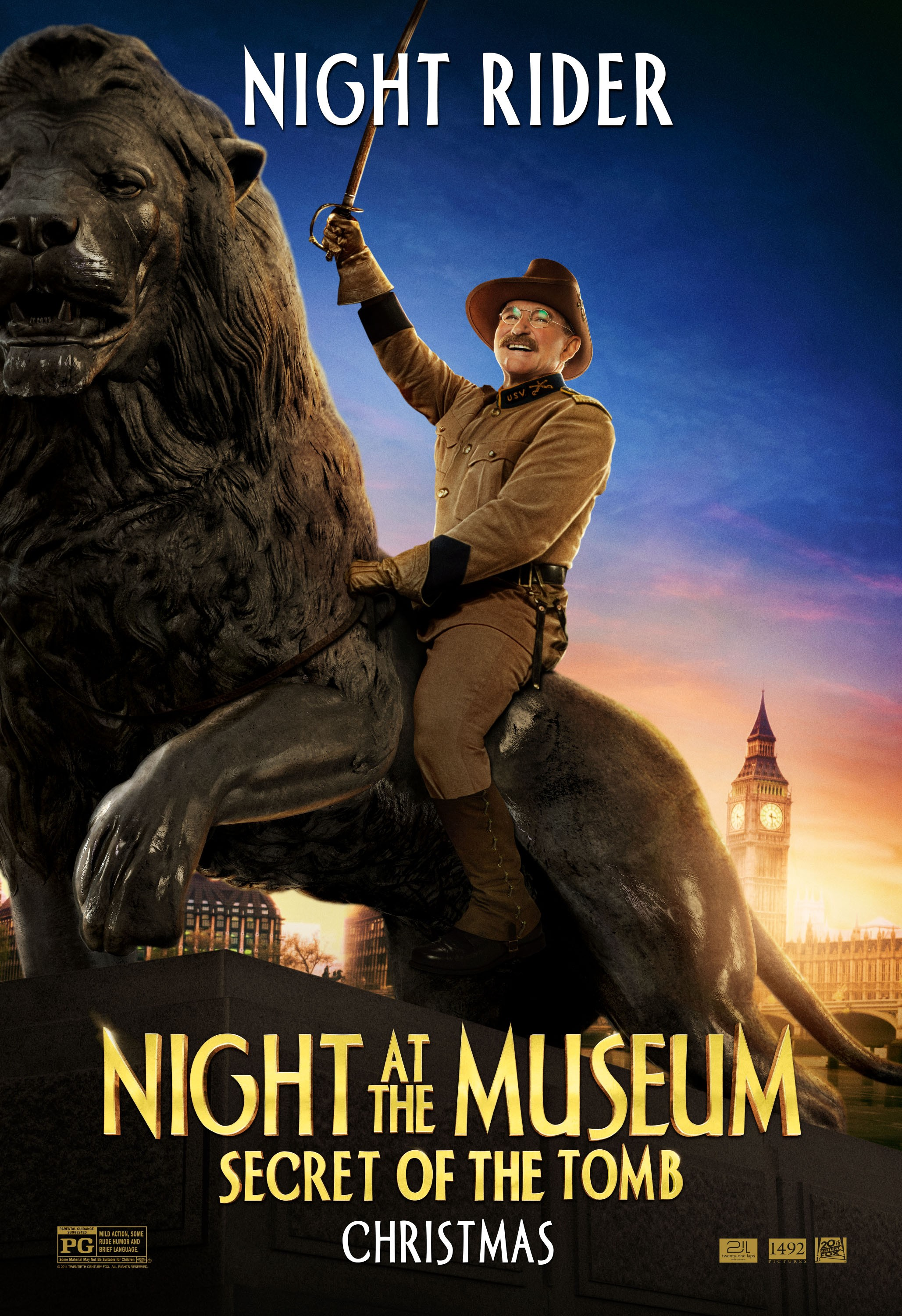 New NIGHT AT THE MUSEUM: SECRET OF THE TOMB Character Posters Use ...