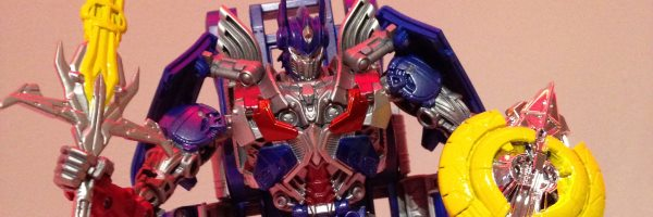optimus prime toy transformers 4 slice