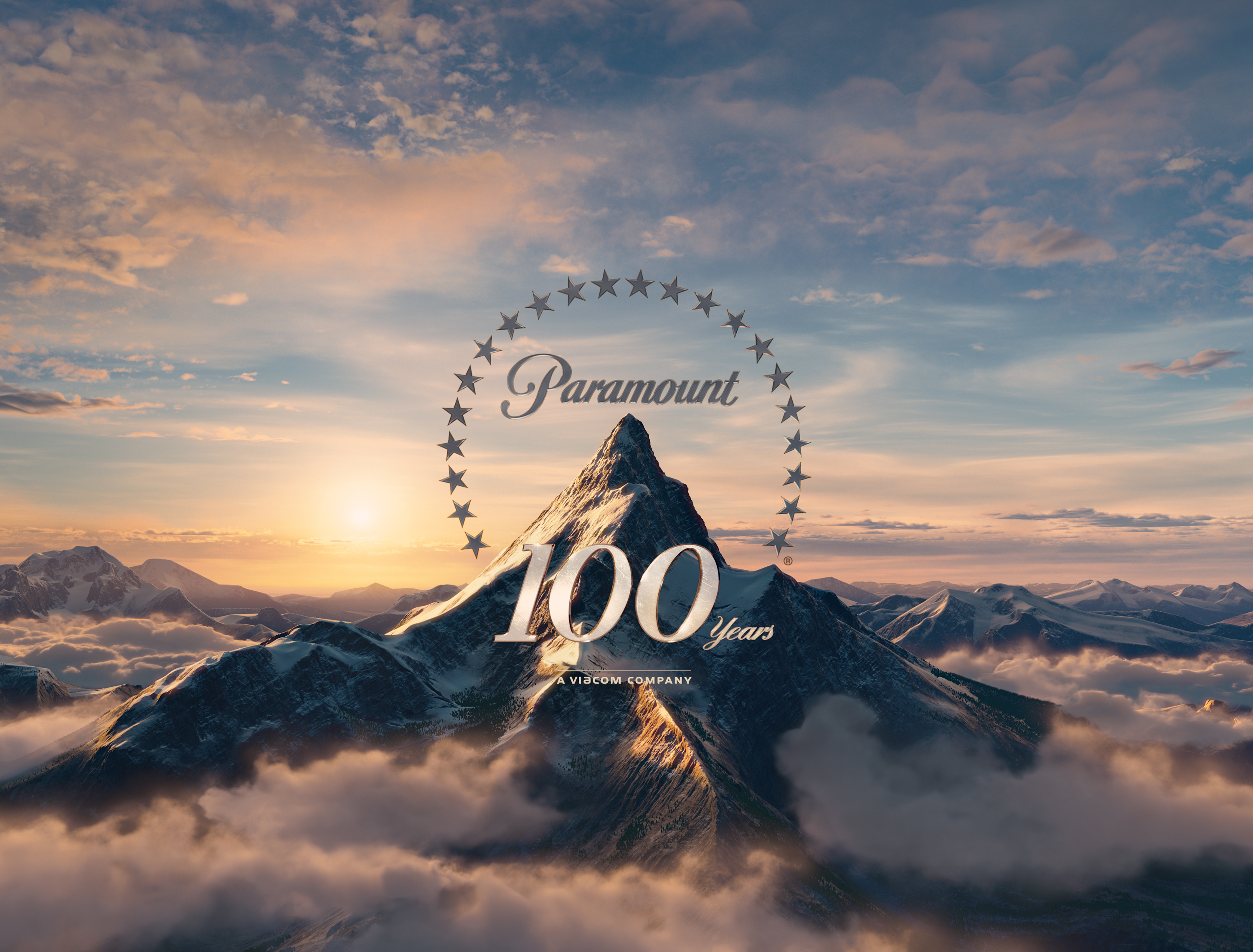paramount 100 years a viacom company logo - photo #1