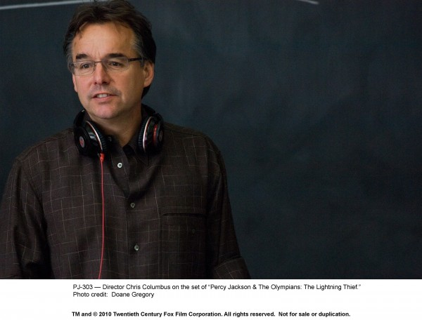 Percy Jackson & The Olympians: The Lightning Thief movie image Chris Columbus
