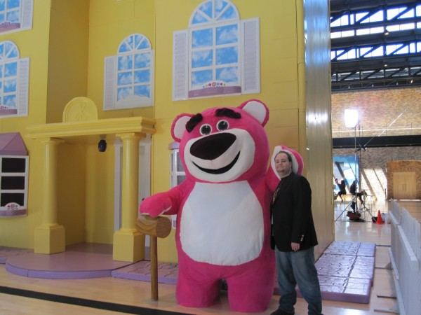 """""""Toy Story 3's"""" villain Lotso isn't so bad once you get to know him.  And he smells like strawberries!"""