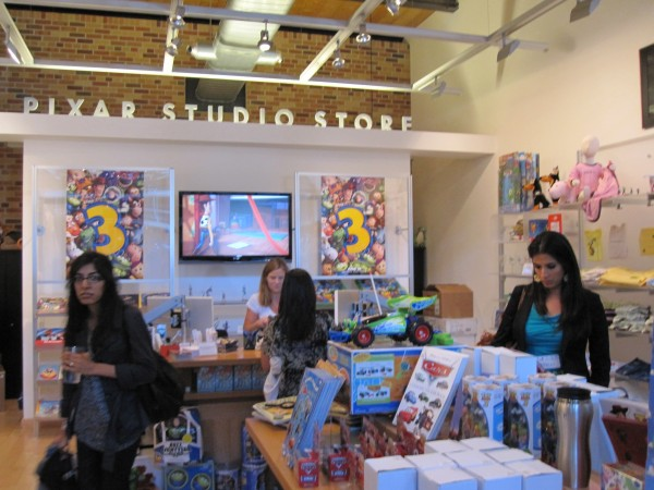 The Pixar Studio which sells merchandise you can only buy there.  They also don't tell you when they're going to close and I cry when I'm too late to buy anything.
