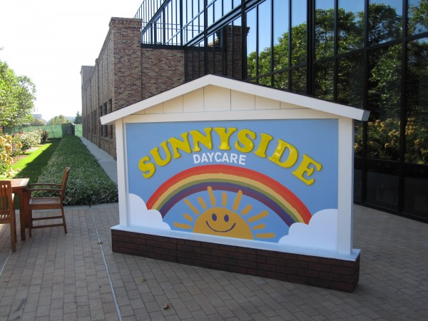 """The daycare center/prison where the toys find themselves in """"Toy Story 3"""""""