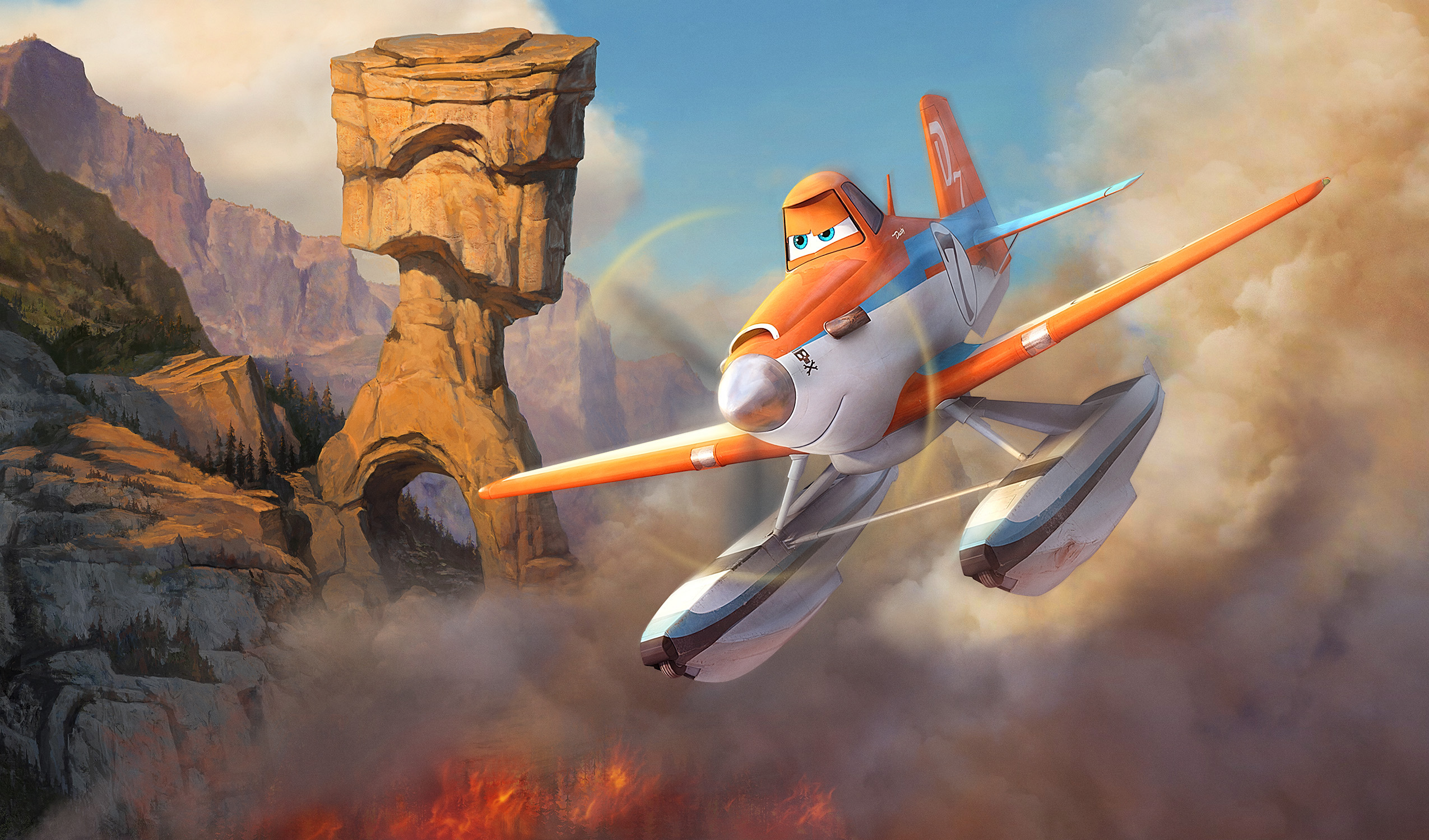 New Images from Disney's BIG HERO 6, FROZEN, PLANES: FIRE & RESCUE ...