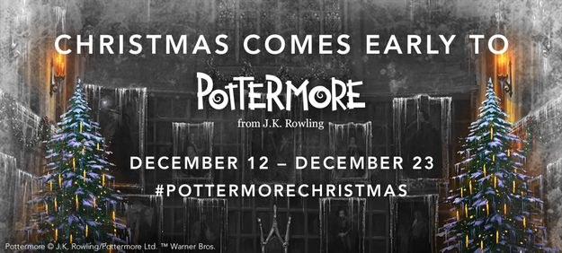 pottermore 12 days of christmas