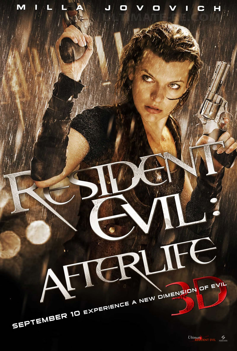 New RESIDENT EVIL: AFTERLIFE Poster and Images | Collider