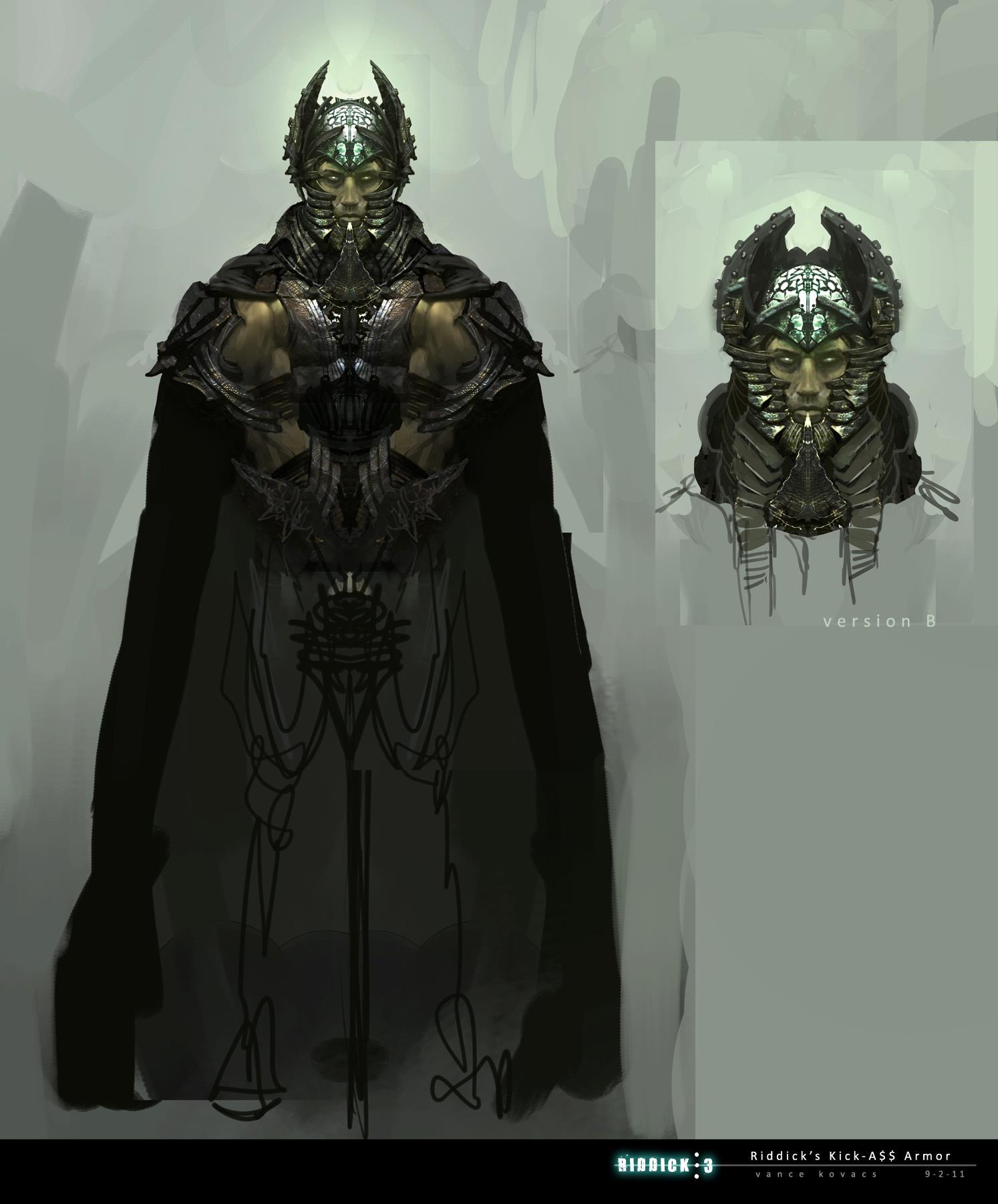 Armor Concept Art