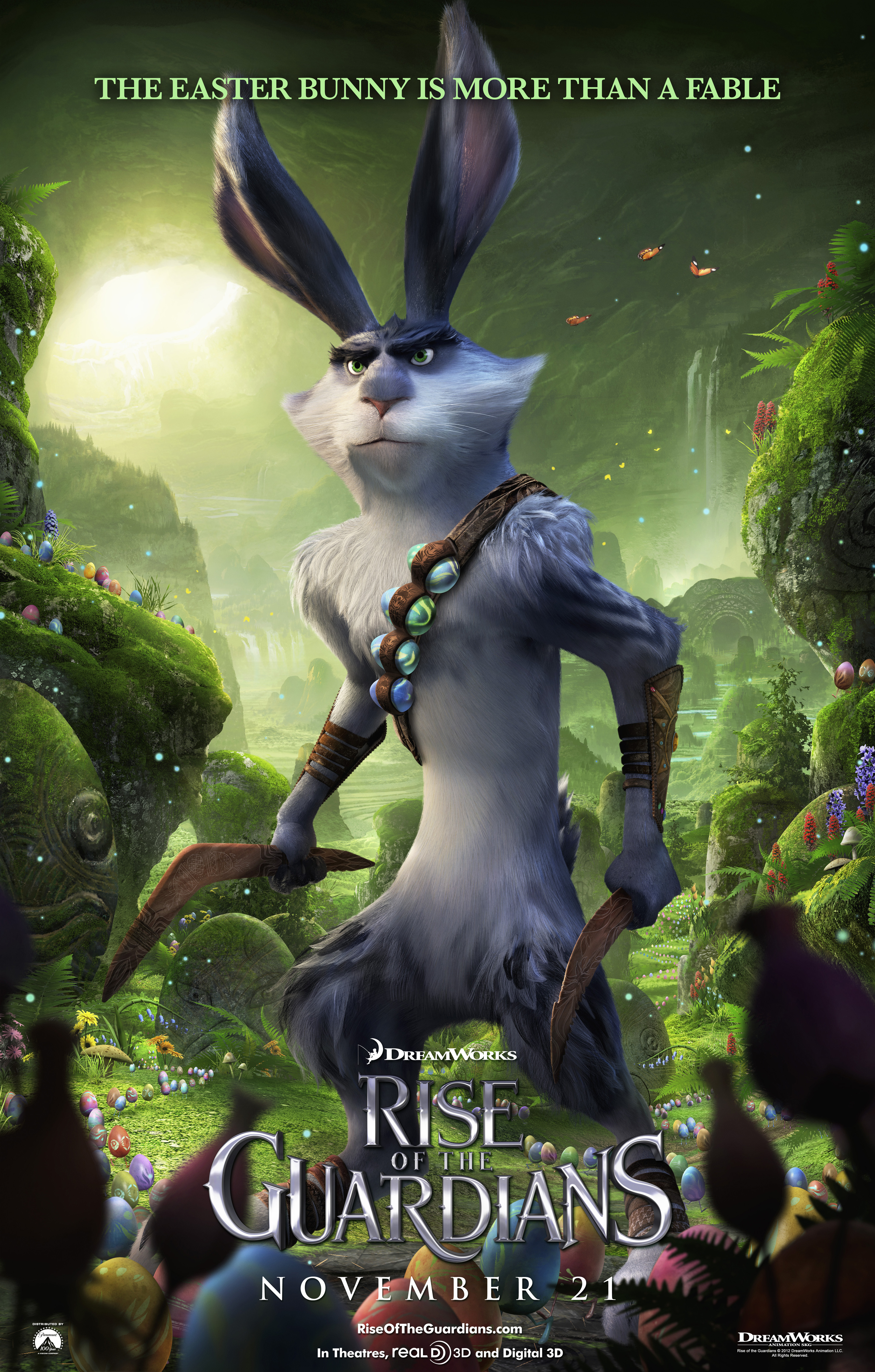 RISE OF THE GUARDIANS Featurette Highlights Hugh Jackman's Character
