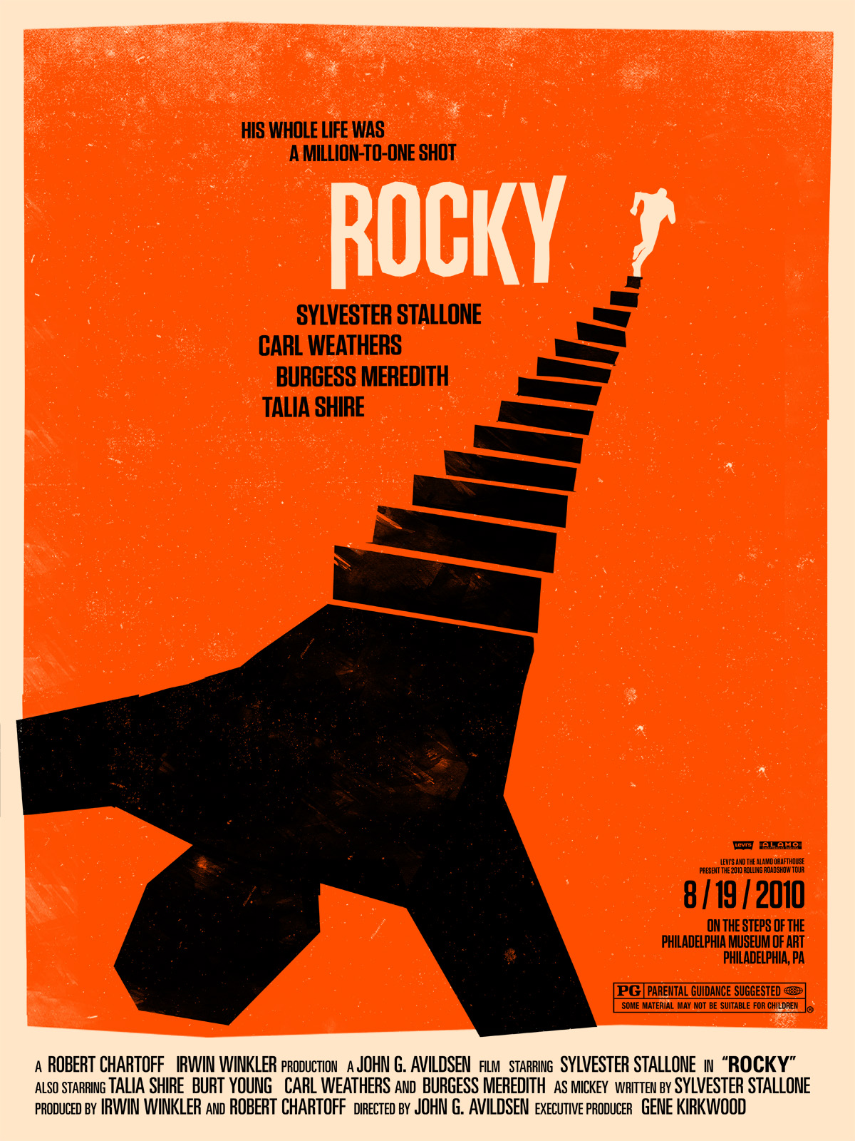 south florida filmmaker classic movie poster redux rocky