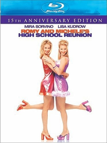 romy and micheles high school reunion blu ray cover