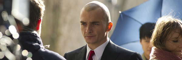First Look At Rupert Friend As Agent 47 Agent 47 Movie
