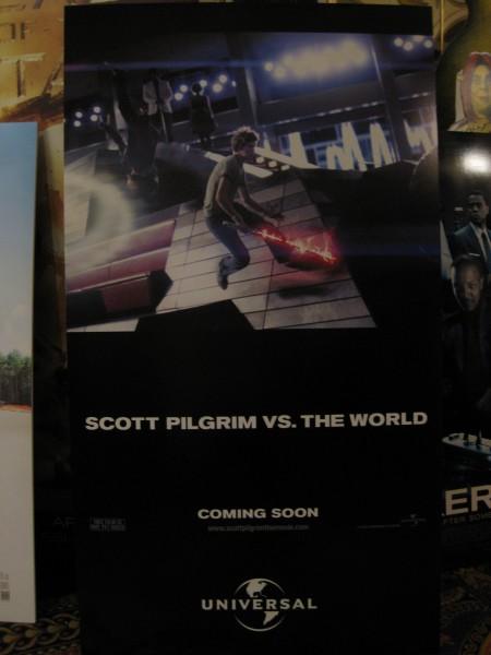 Scott Pilgrim versus the World movie poster