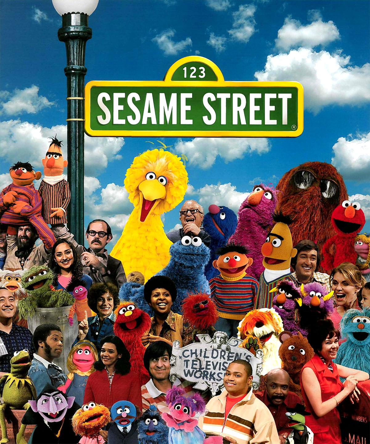 sesame street group image