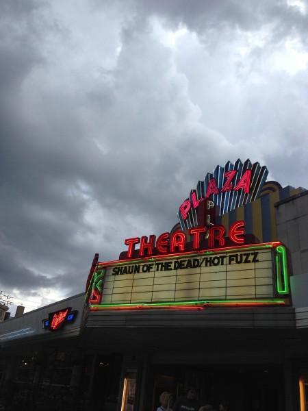 shaun-hot-fuzz-screening-plaza-marquee