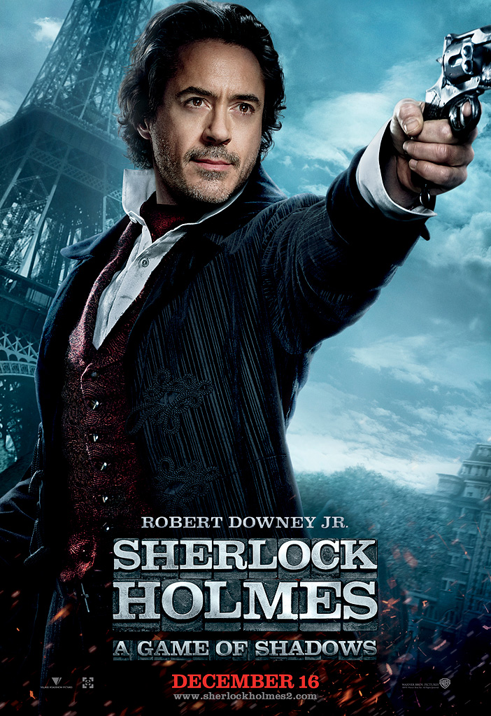 Robert Downey Jr. and Jude Law SHERLOCK HOLMES 2: A GAME OF.