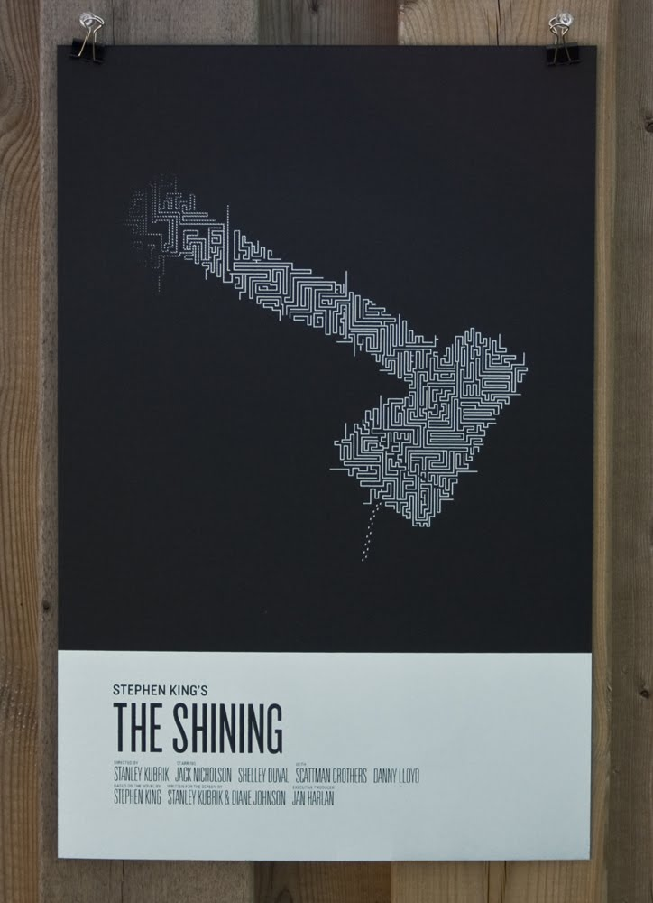 misery the shawshank redemption shining movie poster minimalist collider. Black Bedroom Furniture Sets. Home Design Ideas