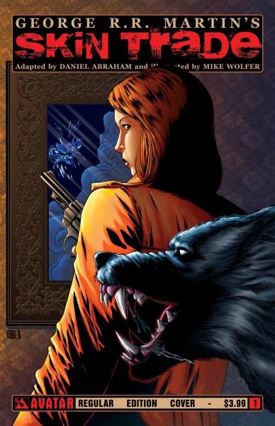 skin trade comic book cover