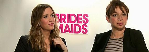 Kristen Wiig Maya Rudolph interview Bridesmaids slice
