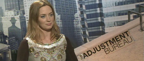 Emily Blunt Interview THE ADJUSTMENT BUREAU slice