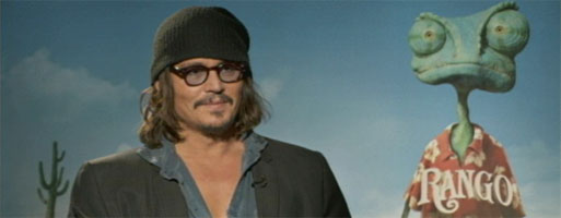 Johnny Depp Interview RANGO slice