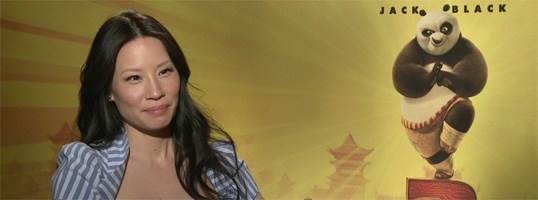 Lucy Liu Interview KUNG FU PANDA 2 slice