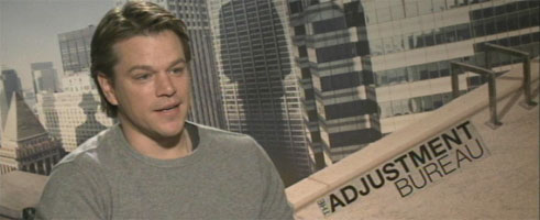 Matt Damon THE ADJUSTMENT BUREAU, ELYSIUM, WE BUILT A ZOO slice