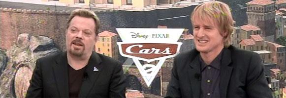 Owen Wilson and Eddie Izzard Interview CARS 2 slice