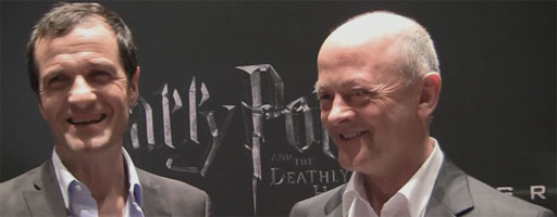 David Heyman and David Barron interview HARRY POTTER AND THE DEATHLY HALLOWS - PART 2 slice