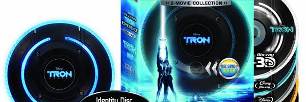 TRON: Legacy Blu-ray slice