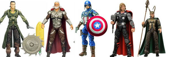 New THOR and CAPTAIN AMERICA Toys slice