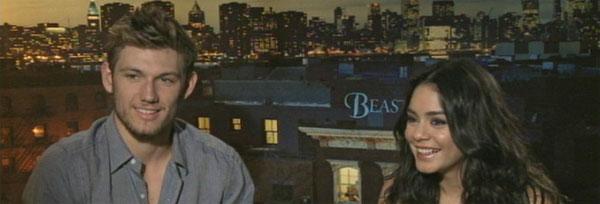 Alex Pettyfer and Vanessa Hudgens Interview BEASTLY slice