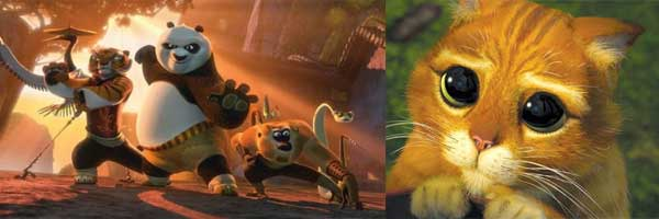 DreamWorks Animation 2011 Preview: KUNG FU PANDA 2 and PUSS IN POOTS slice