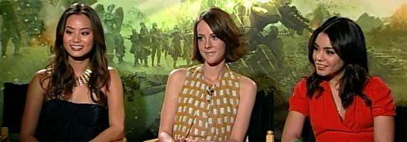 Jena Malone, Vanessa Hudgens Jamie Chung Interview SUCKER PUNCH slice