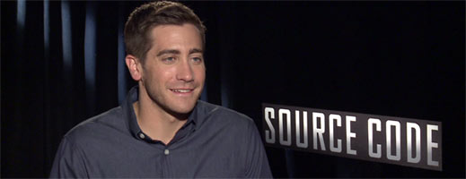Jake Gyllenhaal Interview SOURCE CODE slice