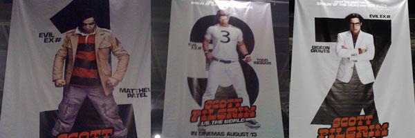 Scott Pilgrim vs The World evil ex-boyfriends character posters slice