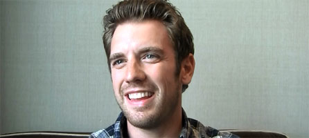 Bret Harrison interview BREAKING IN at WonderCon slice