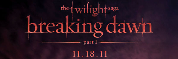 THE TWILIGHT SAGA: BREAKING DAWN Part 1 poster slice