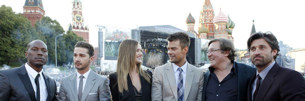 Images and Video from the Moscow Premiere of TRANSFORMERS: DARK OF THE MOON slice