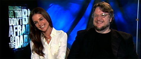 Guillermo del Toro and Katie Holmes DON'T BE AFRAID OF THE DARK slice