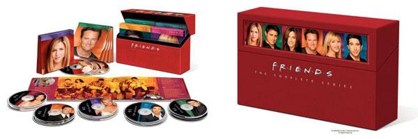 DVD Deal: FRIENDS: THE COMPLETE SERIES slice