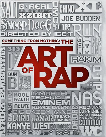 something from nothing the art of rap poster