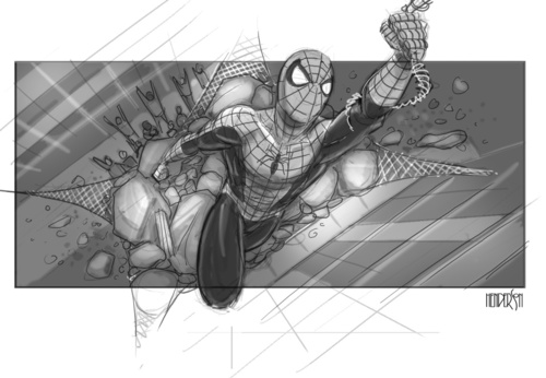 spider-man-4-storyboard-art