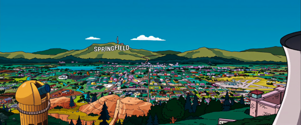 springfield the simpsons