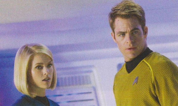 star trek into darkness chris pine alice eve scan