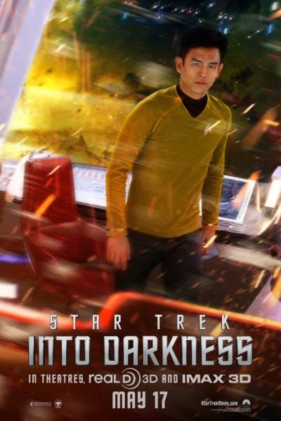 star trek into darkness poster john cho