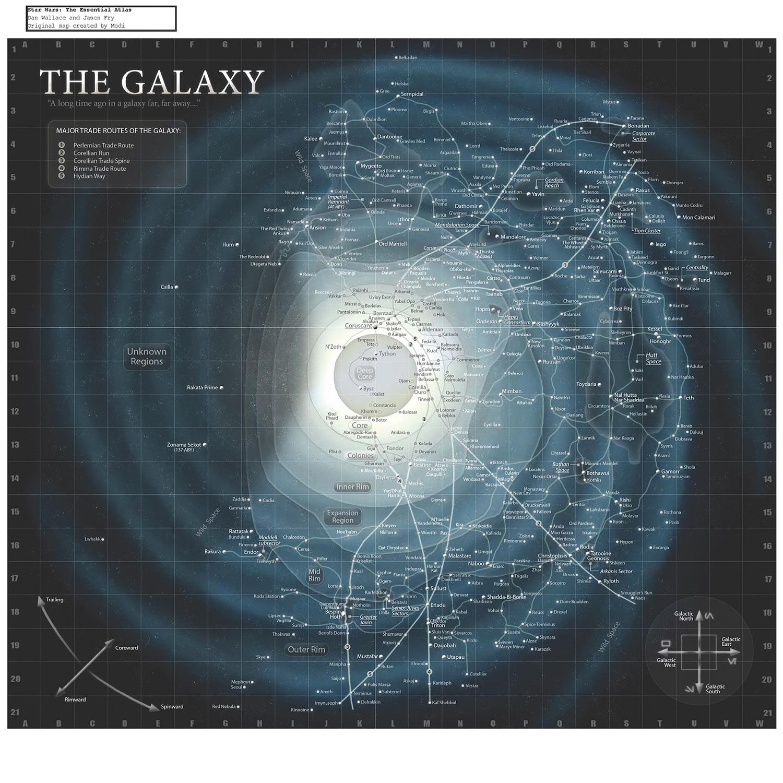 Karta Star-wars-galaxy-map