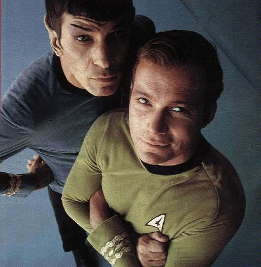 Promo pic from the original Star Trek TV series