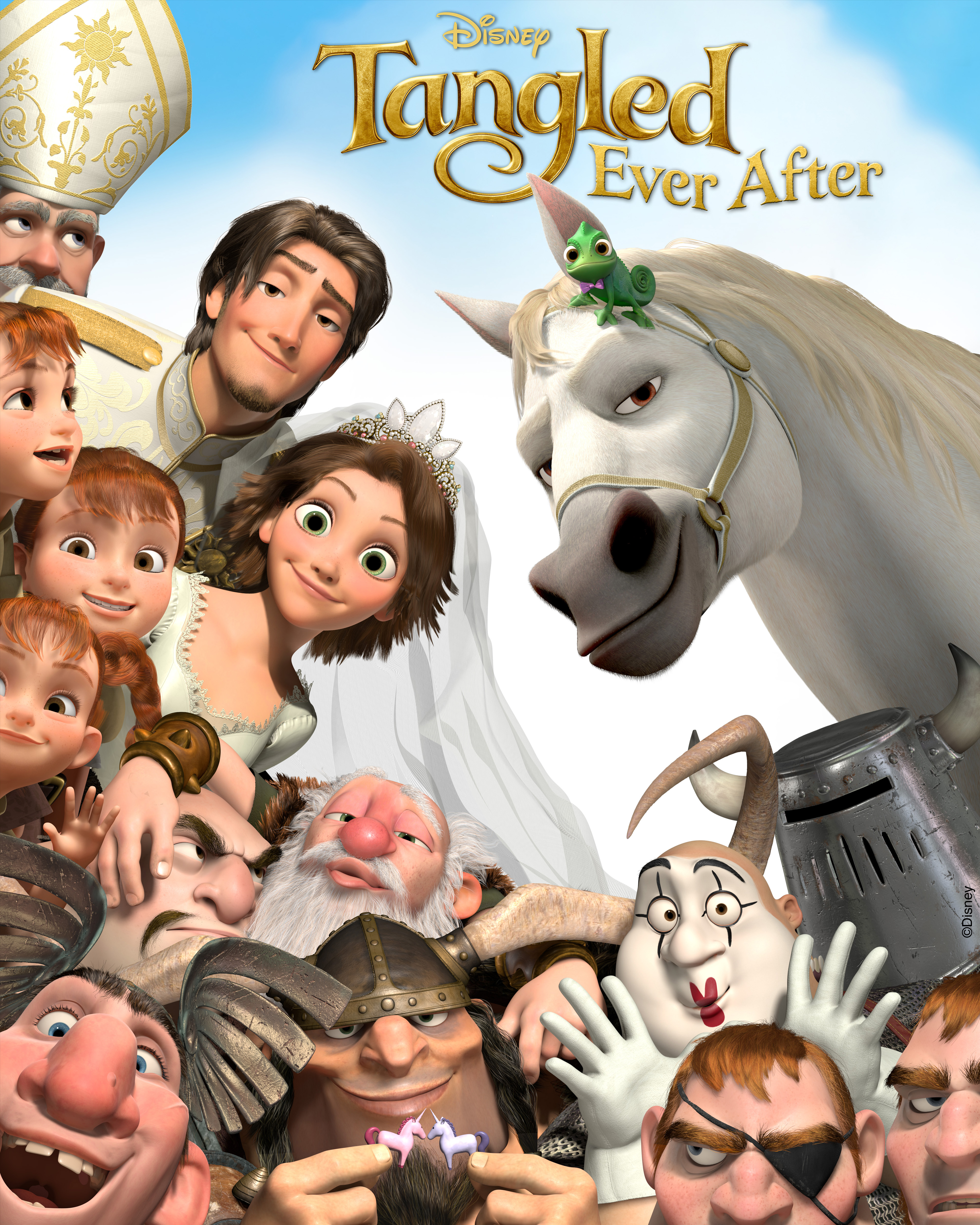 Tangled ever after the film beauty and the beast 3d opens january 13
